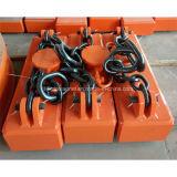 Magnete di sollevamento del piatto elettrico industriale per la gru a cavalletto