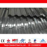 Materiale ondulato laminato a freddo della lamiera di acciaio del tetto