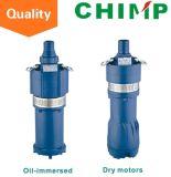 Moteur sec de Q (d) ou pompe submersible à plusieurs étages de moteur immergé dans l'huile Q (d) 3-60/4-1.5 (y)