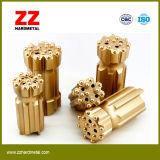 Bits Drilling do carboneto da mineração de Zz Hardmetal