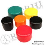 2.5 mm Identifikation. Runde Vinylendstöpsel-Vinylschutzkappen für Rod und Tubings