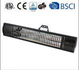 Calefator de controle remoto do infravermelho do halogênio do calefator do calefator infravermelho do pátio