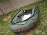 Раздувная шлюпка Rowing рыбацкой лодки