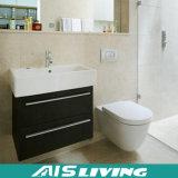 Естественная стена Veneer повиснула шкафы ванной комнаты для дома (AIS-B022)