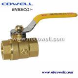 Valvola a sfera idraulica d'ottone con la consegna veloce