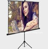 Het concurrerende Scherm van de Projector van de Driepoot van de Duim van de Prijs 70X70 voor Verkoop