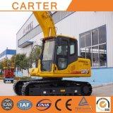 Máquina escavadora resistente hidráulica Multifunction da esteira rolante do Backhoe de Carter CT150-8c (15T)