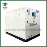 Refrigeratore di acqua raffreddato ad acqua industriale a forma di scatola (25kw)