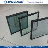 Vidro de vidro reflexivo da prata do baixo E do dobro da segurança do vidro de flutuador vidro revestido de isolamento do vidro para o edifício