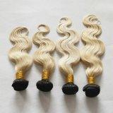 """estensione #1b/613 dei capelli umani dei capelli di Ombre dell'onda del corpo 22 """" 7A"""