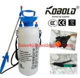 Pulverizador de 1.5 galões, pulverizador da pressão 5L, com bocal de Adjuatable, lança de aço