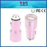 Bullet新しいDesign Aluminum Metal 5V 2.1A Double USB Mobile Phone Car Charger