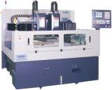 Máquina de estaca do CNC com cabeça dobro para o vidro do telefone (RCG1000D)