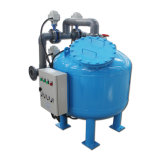 Fibre de verre / acier au carbone Efficient Automatic Backwashing Pool Sand Filter