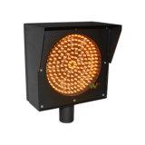 200mm黄色いLEDの点滅のシグナルのトラフィックの警報灯