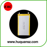 Bateria recarregável Exc102555 1500mAh do polímero do lítio