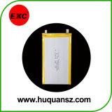Polímero de litio recargable de la batería 1500mAh Exc102555