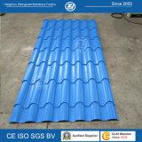 Rolo de alumínio da telha de telhado das bobinas que dá forma à máquina
