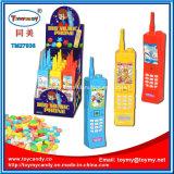 子供のためのプラスチック大きい音楽電話おもちゃキャンデー