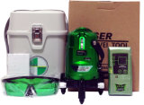 Зеленый степень Rorating 2V1h вкладыша 360 лазера