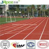Wetter-Beweis-Polyurethan-materieller im Freien athletischer Spur-Fußboden