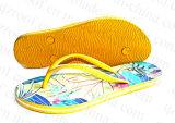 Il pistone delle donne gialle di estate calza il sandalo di caduta di vibrazione (RF16251)