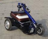 scooter électrique de mobilité invalidé par roue de la batterie au lithium 48V trois