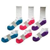 Het Katoen Terry Sports Socks van de Vrouwen van mannen met Steunzool (CK-02)