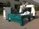 4 máquina do router da gravura do CNC da escultura da espuma 3D da linha central da linha central 5