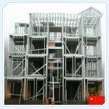 Estructura del marco de acero de la alta calidad del bajo costo de China Q235