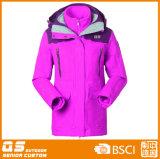 1枚のジャケットに付き女性の長く暖かい方法3枚