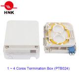 1 ~ 4 retira o núcleo de 1 caixa portuária da terminação do cabo da fibra óptica (PTB024)