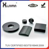 Magneti di ceramica permanenti personalizzati dell'altoparlante del ferrito del bario dei magneti del ferrito di figura