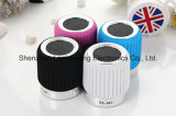 Bluetoothの円形の無線スピーカーのBluetoothのポータブルのスピーカーをする小型携帯用モバイル・コンピュータのサウンドカード
