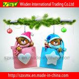 Regalo de las decoraciones de la Navidad, ornamento colgante lindo para la decoración casera
