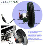12inch 무브러시 휠체어 모터 & 전력 서 있는 휠체어 모터