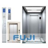 Elevador comercial del edificio de FUJI con el pequeño sitio de la máquina