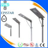 Hersteller-Großverkauf 8W 10W 15W 20W 25W 30W 40W 60W integrierte alle in einem Solar-LED-Straßenlaterne