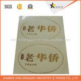 Drukte het VinylDocument van de printer Zelfklevend Etiket af die Transparante Sticker afdrukken
