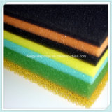 Les couleurs légères ouvrent la mousse respirable de filtre d'éponge d'unité centrale de cellules