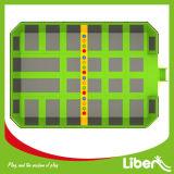 Trampoline interno comercial de Liben Dodgeball para adultos