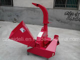 自己Feed 100mm Chipper Tractor Wood Chipper