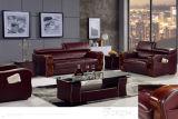 Sofà domestico del cuoio della mobilia con il sofà del cuoio genuino