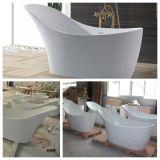 Tina libre de piedra artificial caliente del cuarto de baño para remojar