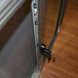 Maniglia scura con la finestra di scivolamento di alluminio anodizzata tasto della lega di alluminio con la rete di zanzara Kz113