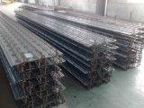 Feuilles de Decking d'armature de barres en acier de matériau de construction de la Chine pour les gratte-ciel ou au-dessus de 2storeys