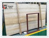 Золотистый/бежевый деревянный камень травертина вены для плитки /Wall пола
