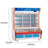 Refrigerador dobro de Oder do prato da Três-Camada da temperatura com rodízios universais