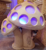Sandstein Sculpture Mushroom Shape Lighting Lantern mit Loudspeaker