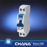 CITIZENS BAND en het Elektronische Type RCCB van Goedkeuring van Ce met de Stroomonderbreker van de Bescherming van de Te sterke intensiteit
